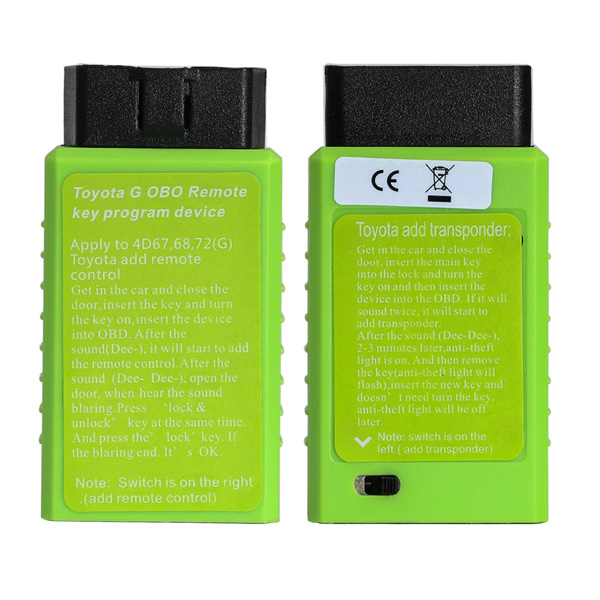 Good Quality Toyota G and Toyota H Chip Vehicle OBD Remote Key Programming Device