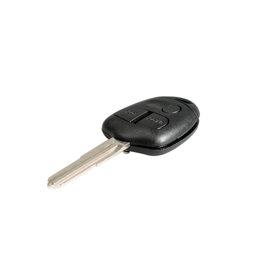 Remote Key Shell 3 Button (Left Side) 3B For Mitubishi 10pcs/lot