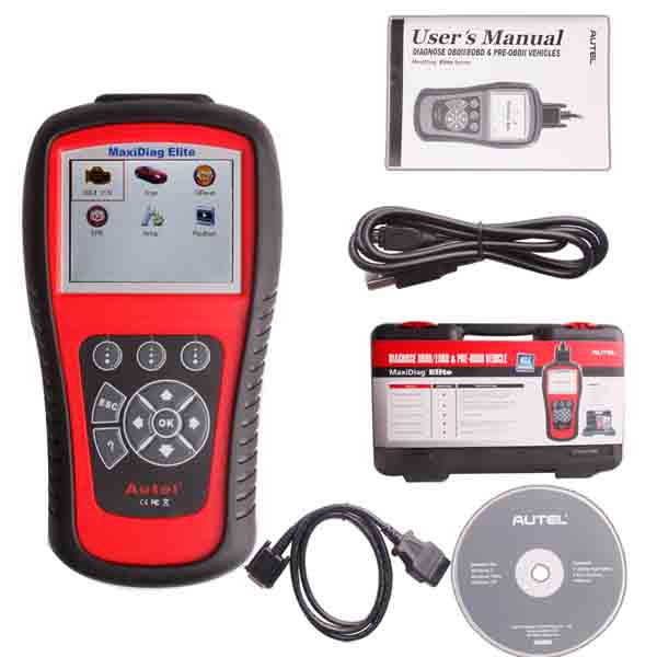 Autel Maxidiag Elite MD704 DS Model for All System with Data Stream Function Update Internet