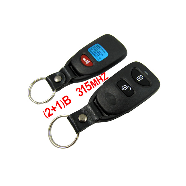 (2+1)Remote Key 315MHZ Free Shipping for Hyundai Santa Fe