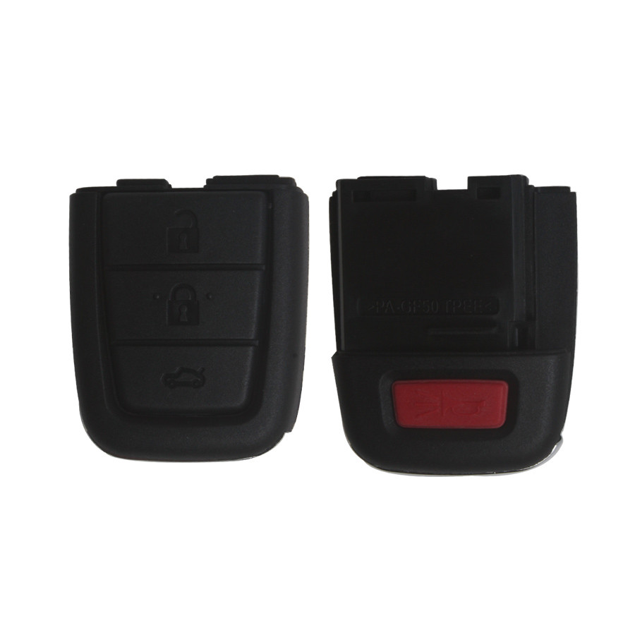 NEW Remote Key Shell 3+1 Button For Chevrolet 5pcs/lot