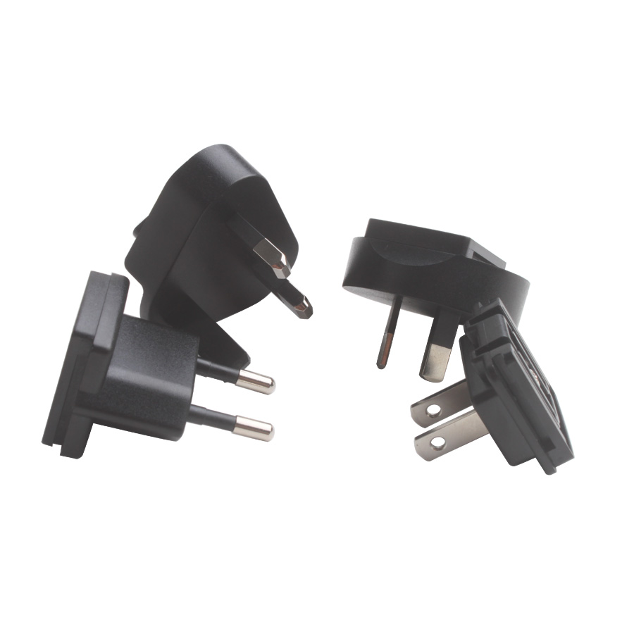 NEW Dedicated Standard Large Current Power Adapter and US/EU/AU/UK Converter for the Key Pro M8