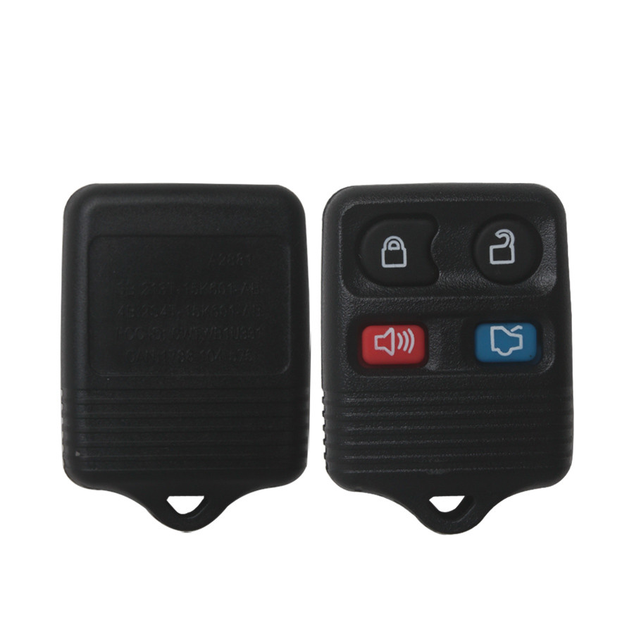 Remote Shell 4 Button For Ford 20pcs/lot