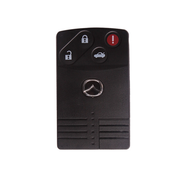 Mazda Smart Card Shell 3+1 Button