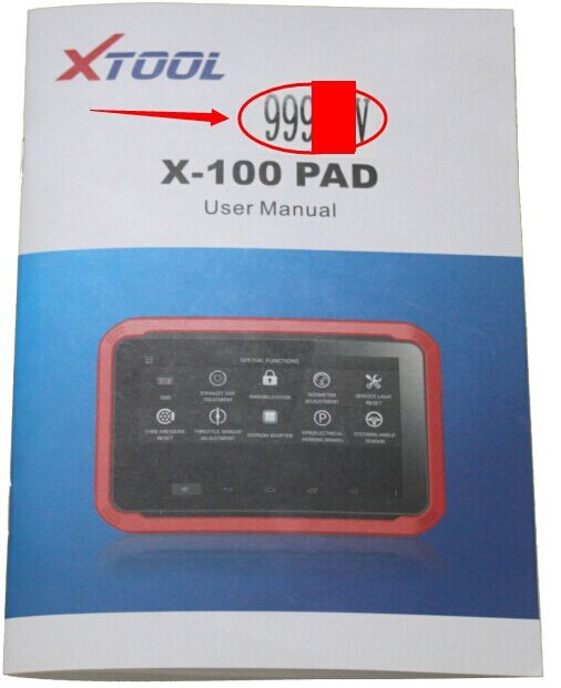 activate-code-for-the-x-100-pad-from-the-user-manual