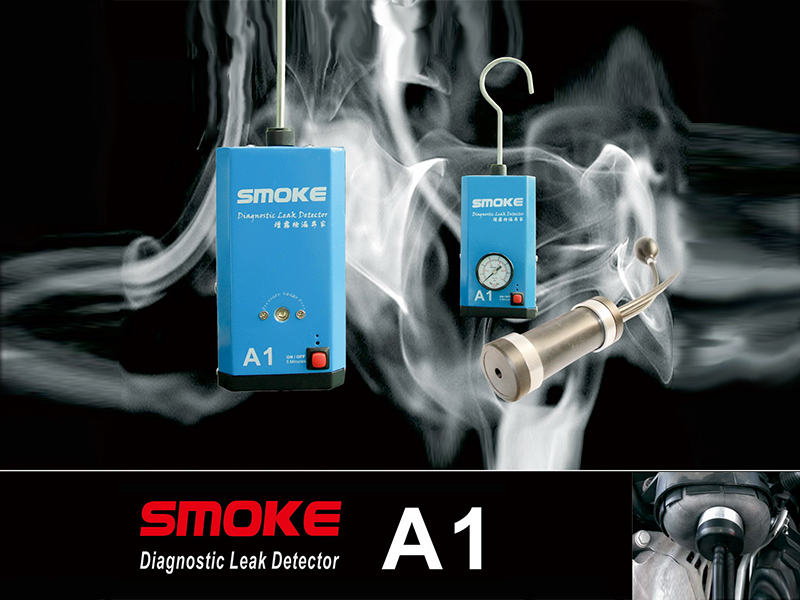 A1 Diagnostic Leak Detector for Motorcycle / Cars / SUVs / Truck