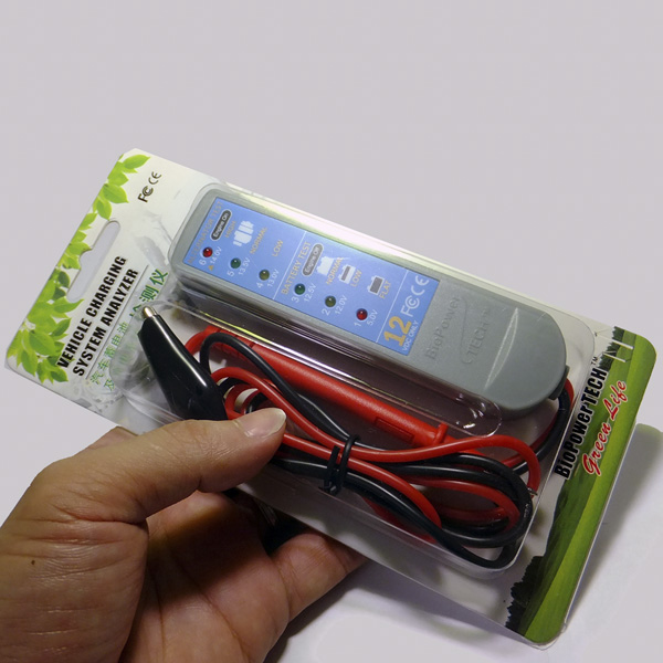 BioPower TECH Vehicle Charging System Analyzer& Battery Tester