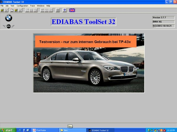 Super BMW ICOM A2+B+C with Software Technical Service