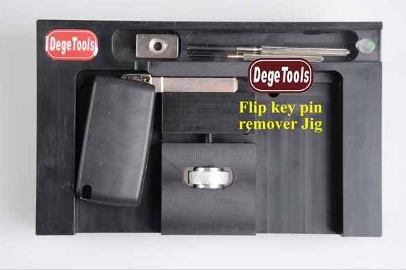 DegeTools Flip Key Pin Remover Jig Technical Service