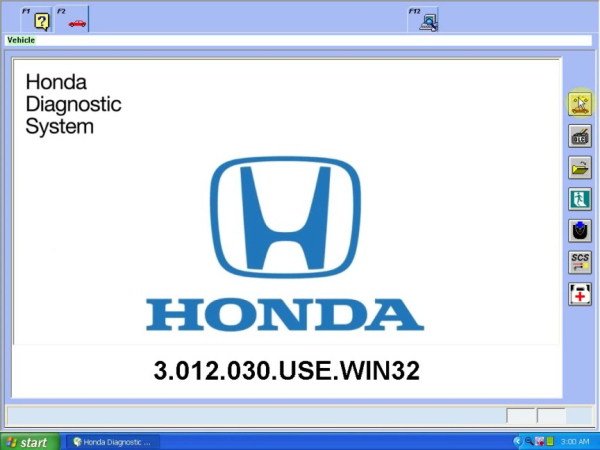 Newest Version 3.012.023 Honda HDS HIM Diagnostic Tool with Double Board