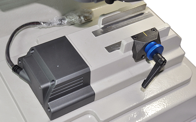 IKEYCUTTER Condor XC-007 Master Series Key Cutting Machine Display