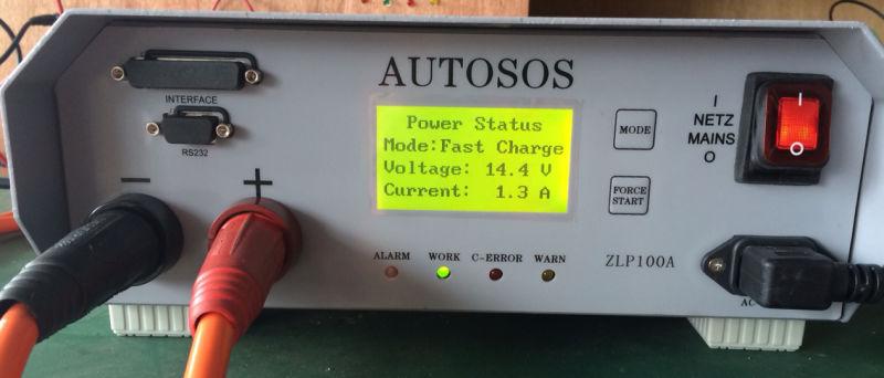 ZLP100A Autosos Testing