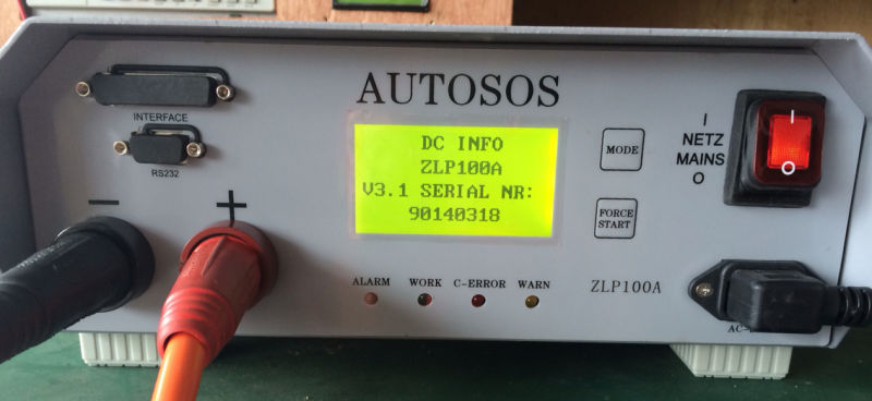 Intelligent Programming Charger ZLP100A for Autosos Testing Photos