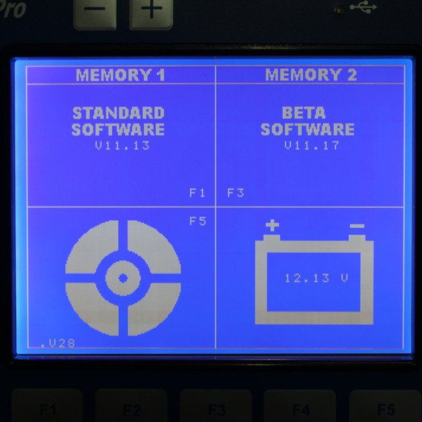 The Key Pro M8 Kit Software Display