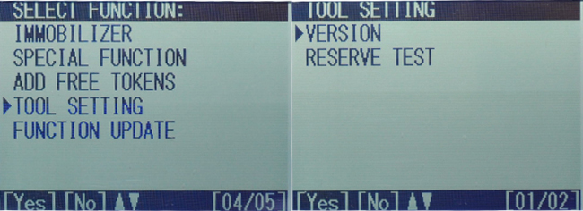 skp900 tool setting