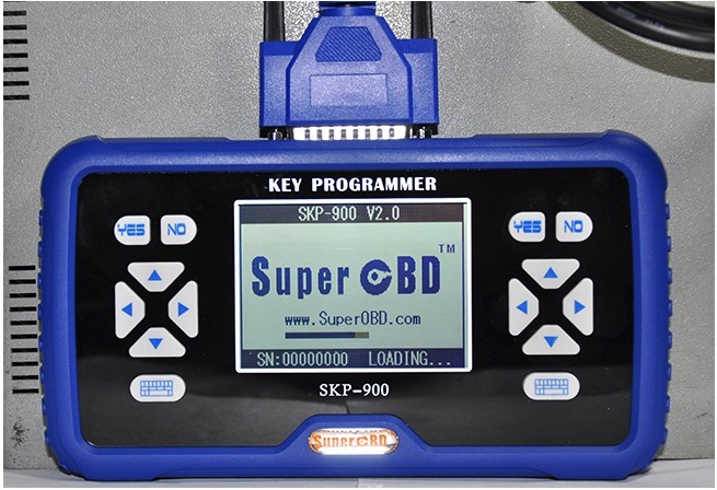 SKP-900 Key Programmer Display 8