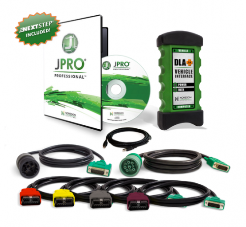 Heavy-Duty JPRO Professional Diagnostic Software & Adapter Kit