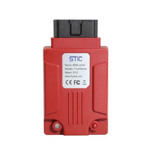 [UK Ship]FLY SVCI J2534 Diagnostic Interface Supports SAE J1850 Module Programming Update Online Better than VCM2