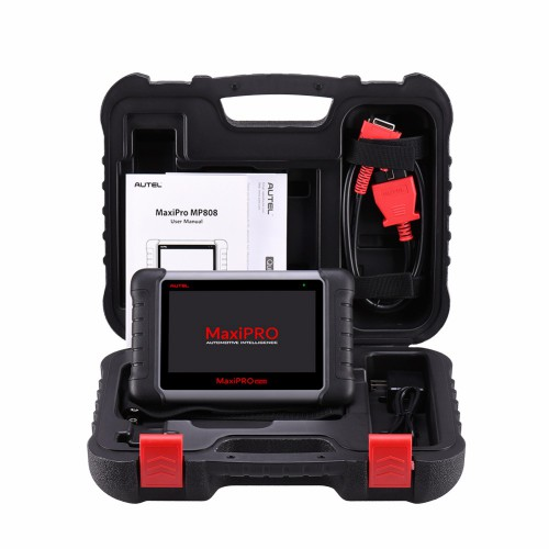[UK Ship]Original Autel MaxiPRO MP808 Automotive Scanner Professional OE-Level Diagnostics with Bi-Directional Control Same Functions as MS906