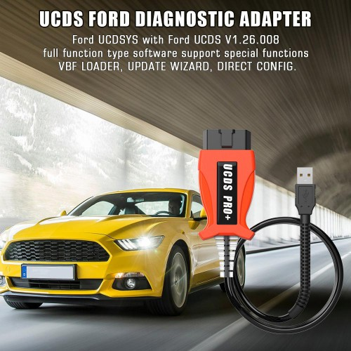 FORD FOCUS UCDS V3 UCDS 1.26.008 Full Version