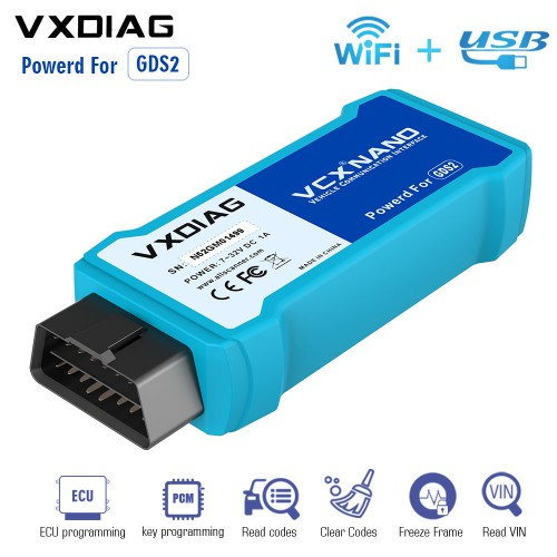 [UK Ship] VXDIAG VCX NANO for GM/OPEL GDS2 Diagnostic Tool WIFI Version