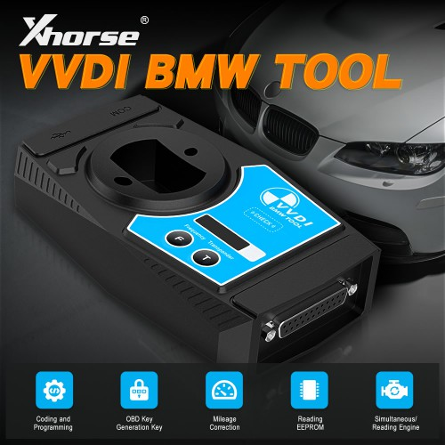 [UK Ship]Xhorse VVDI2 BMW Tool Diagnostic Coding and Programming Tool get 5pcs Xhorse Smart Remote
