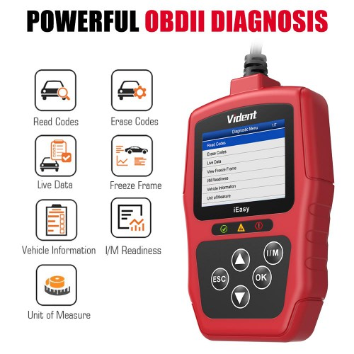 VIDENT iEasy300 CAN OBDII/EOBD Code Reader