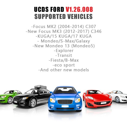 Ford UCDS PRO+ For Ford UCDSYS With UCDS V1.26.008 Full License
