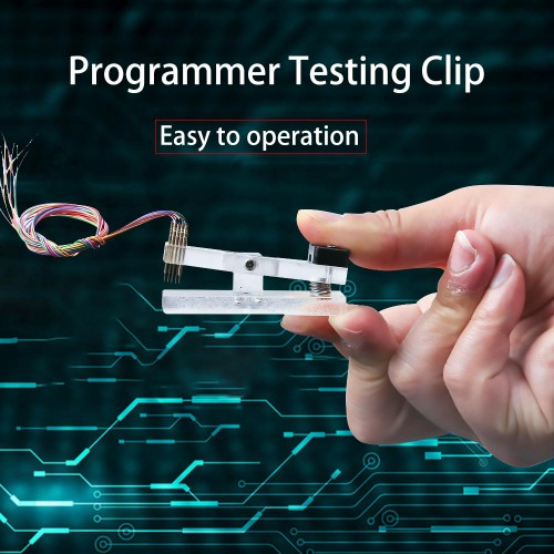 1.0MM 2.54MM Programmer Testing Clip Test Clip Download Fixture Burn Tool Clip