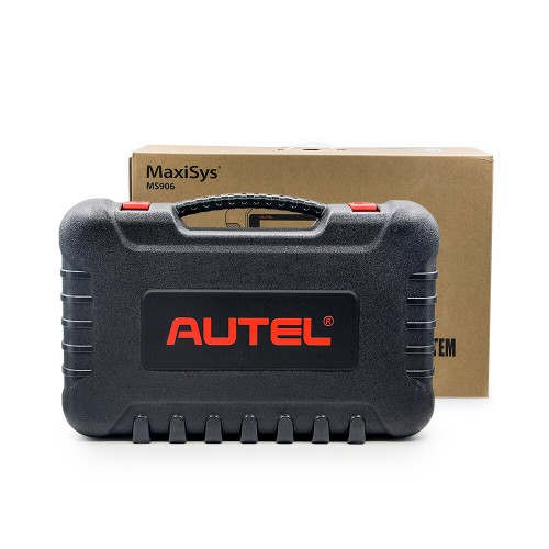 Autel MaxiSYS MS906 Auto Diagnostic Scanner with Key Coding, Bi-Directional Control, Oil Reset, ABS, SRS, DPF, EPB, TPMS