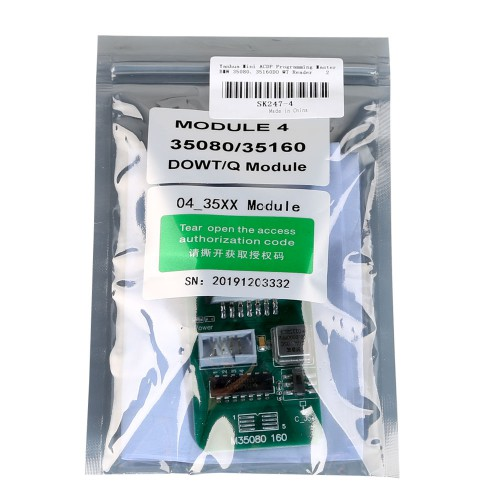 [UK ship]Yanhua Mini ACDP BMW 35080, 35160DO WT EEPROM Read & Write Authorization with Adapters