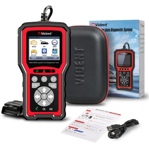 VIDENT iMax4302 BMW Full System Diagnostic Tool with 9 Special Functions