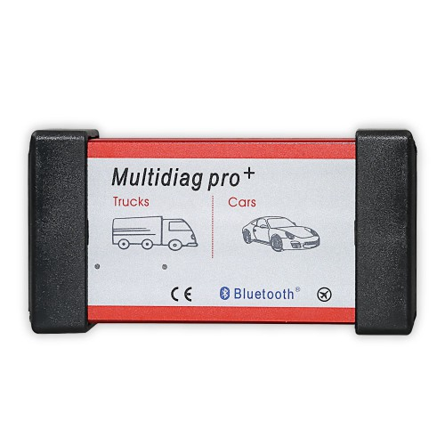 New Bluetooth Multidiag Pro+ for Cars/Trucks and OBD2 with 4GB Memory Card V2014.R3