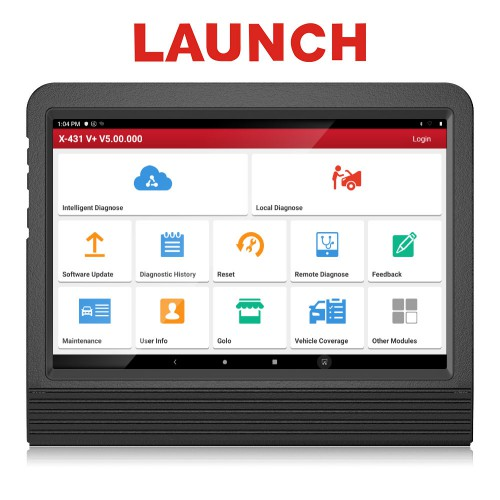 [UK Ship]Launch X431 V+ 10.1inch Tablet Global Version with HD3 Ultimate Heavy Duty Adapter Work for Both 12V & 24V Cars and Trucks