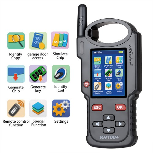 [UK Ship]Lonsdor KH100+ Latest handheld Remote/Smart Key Programmer
