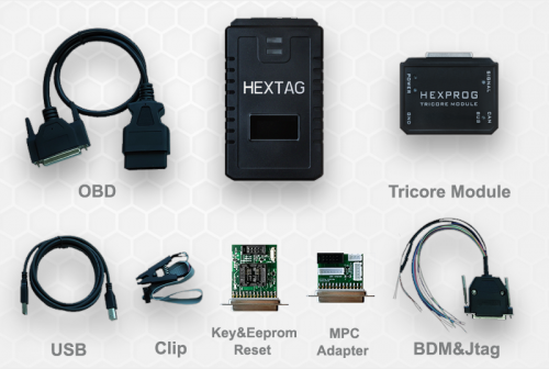 HexTag Programmer with BDM Functions for BMW CAS1 CAS2 CAS3 CAS4 CAS4+