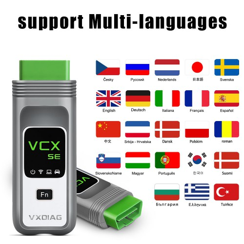 VXDIAG VCX SE BENZ DoiP Diagnostic Tool with 2TB Full Brands Software Hard Drive Get Super Remote Diagnostic DONET For Free