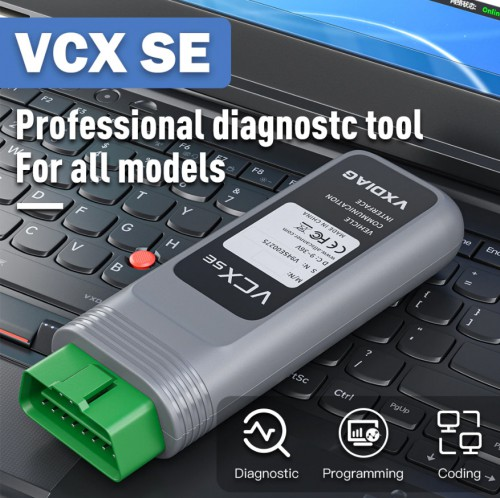 2021 New VXDIAG VCX SE DOIP Hardware Full Brands Diagnosis incl JLR HONDA GM VW FORD MAZDA TOYOTA Subaru VOLVO BMW BENZ PIWIS2