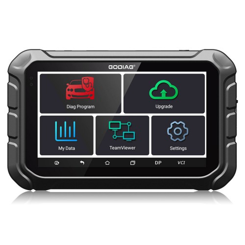 GODIAG GD801 Key Programmer and Odometer Adjusment Tool with ABS EPB TPMS EEPROM Function