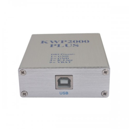 KWP2000 KWP 2000 Plus ECU Remap Flasher Chip Tuning Tool Supports High Speed Flashing USB Connection