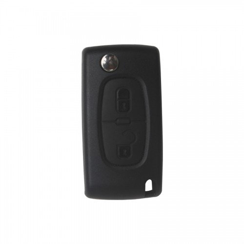 Flip Remote Key 2 Butotn with ID46 Chip For Peugeot 307