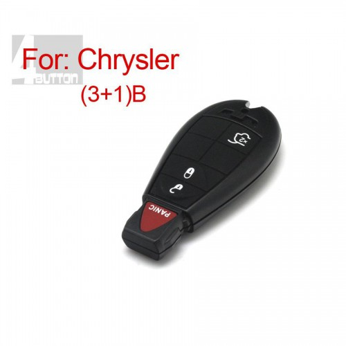 Smart Key Shell 3+1 Button For Chrysler