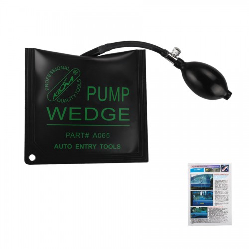 KLOM NEW Universal middle type Air Wedge Black