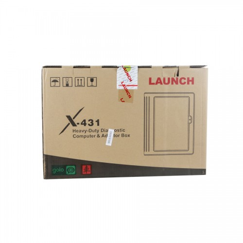 [UK Ship] Original Launch X431 V+ Wifi/Bluetooth HD Heavy Duty Truck Diagnostic Module