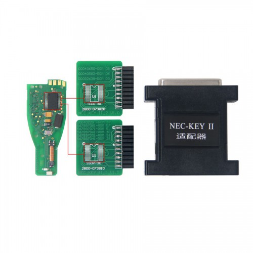Mercedes-Benz BGA NEC Key III Adapter for CKM100 or Digimaster III