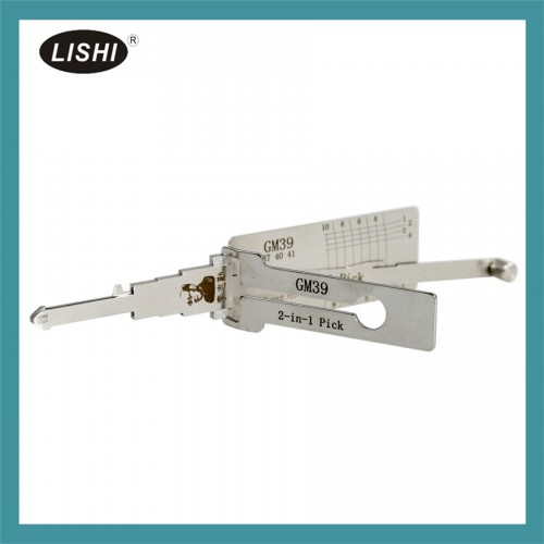 LISHI GMC Buick HUMMER GM37 39 40 41 2 in 1 Auto Pick and Decoder