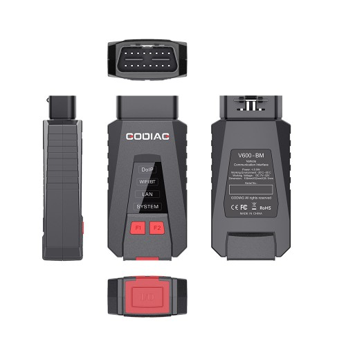 GODIAG V600-BM Diagnostic and Programming Tool for BMW Supports DOIP K-Line CAN FD same Functions as BMW ICOM A2/ ICOM Next