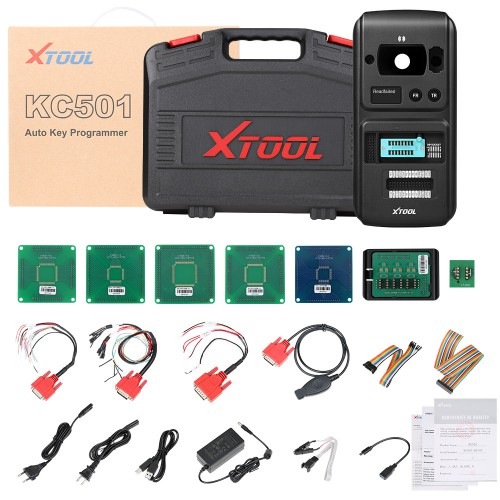 [UK/EU Ship]XTOOL KC501 Mercedes Infrared Key Programming Tool Support MCU/EEPROM Chips Reading&Writing Work with Xtool X100 PAD3/A80 H6