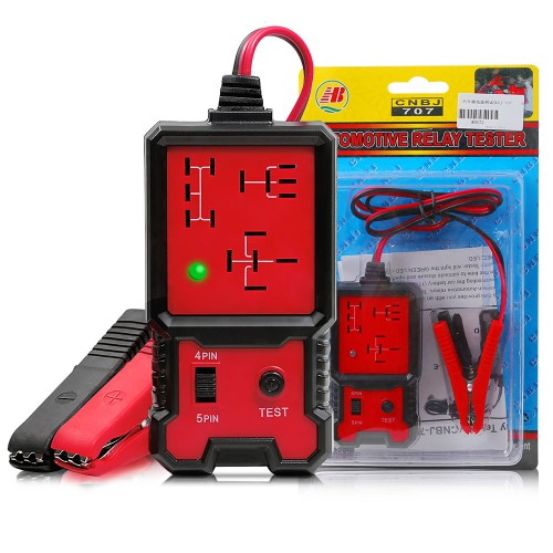 12V Electronic Automotive Relay Tester Auto Car Diagnostic Battery Checker Tool