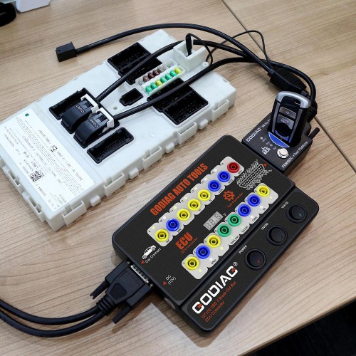 [EU Ship]GODIAG BMW FEM/BDC Test Platform Work with Xhorse VVDI2/Key Tool Plus Pad, Autel IM608, CGDI BMW etc